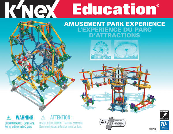 Cover image for Amusement park experience = L'...