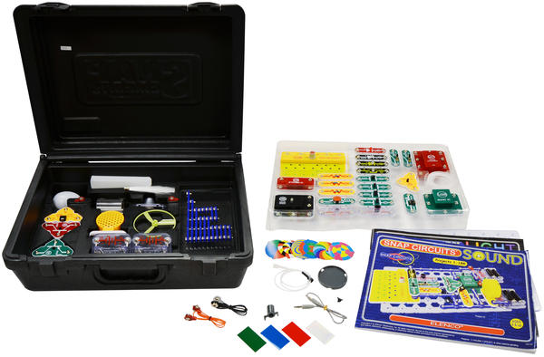 Cover image for Snap Circuits deluxe light & s...