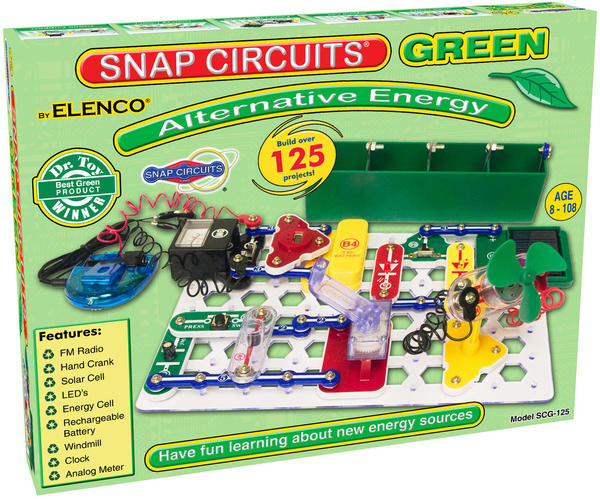 Cover image for Snap Circuits green : alternat...