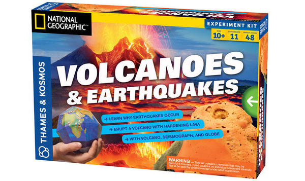 Cover image for Volcanoes & earthquakes.