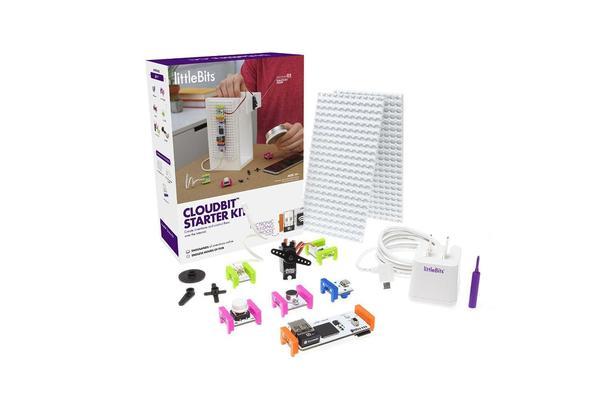 Cover image for littleBits cloudbit starter kit.