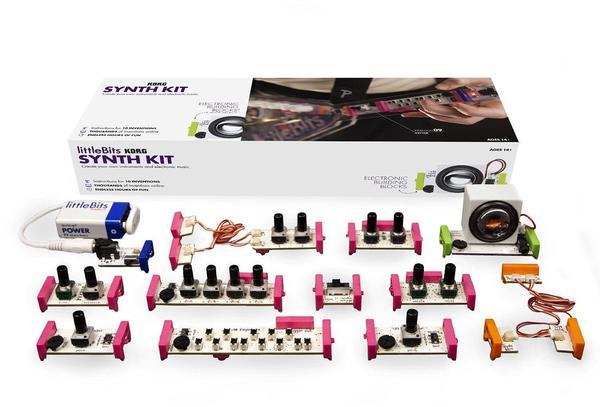 Cover image for littleBits KORG synth kit.