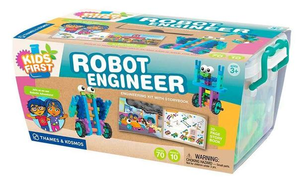 Cover image for Kids First robot engineer : en...