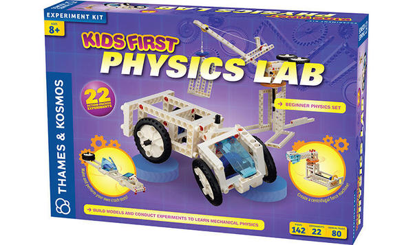 Cover image for Kids first physics lab.