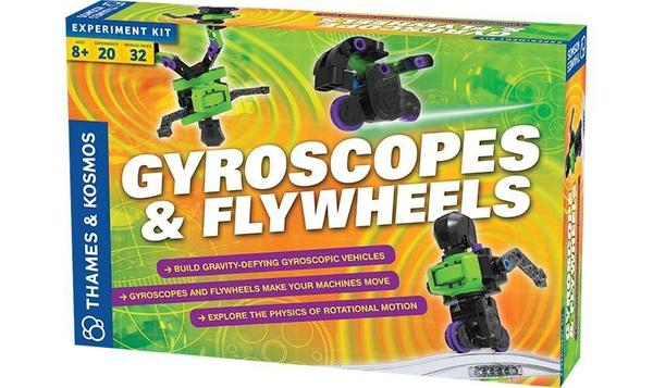 Cover image for Gyroscopes & flywheels.